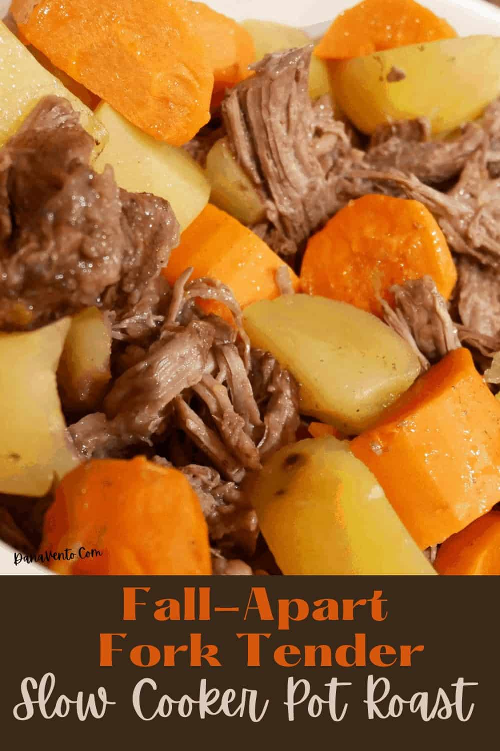 pot roast that has been slow-roasted