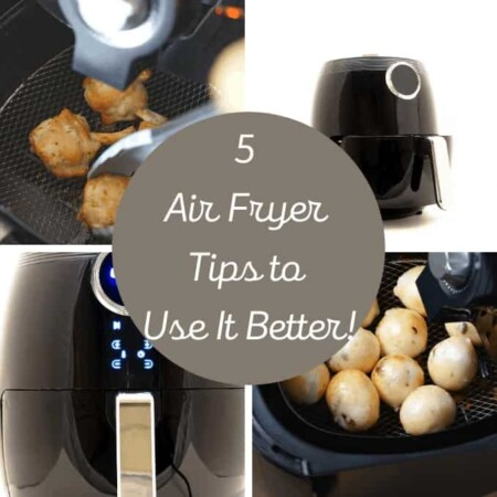 air fryers and baskets with food