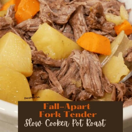 FALL-APART FORK-TENDER SLOW COOKER POT ROAST FOR ANY NIGHT OF THE WEEK