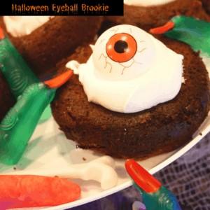 Halloween Eyeball Brookie Treat That Has It's Eye On You!