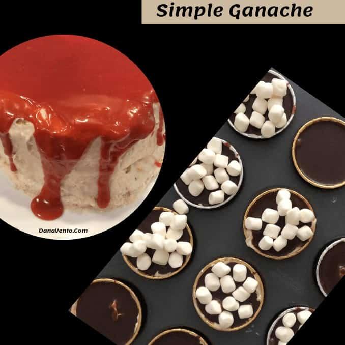 Ridiculously easy chocolate ganache.