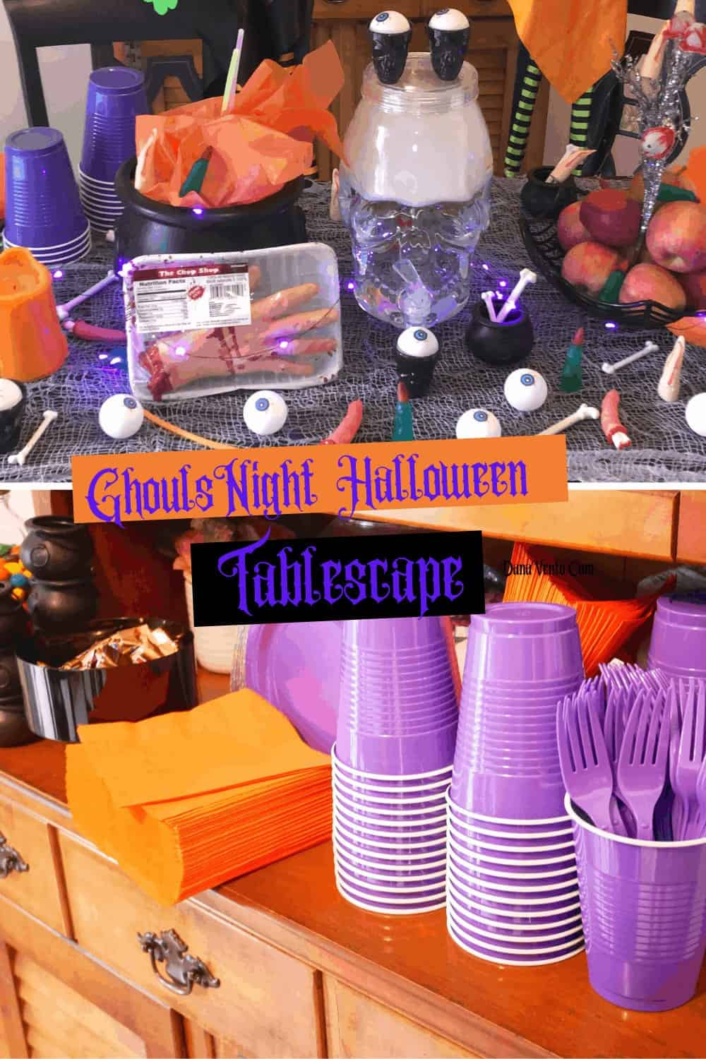Cups and Halloween Party Supplies