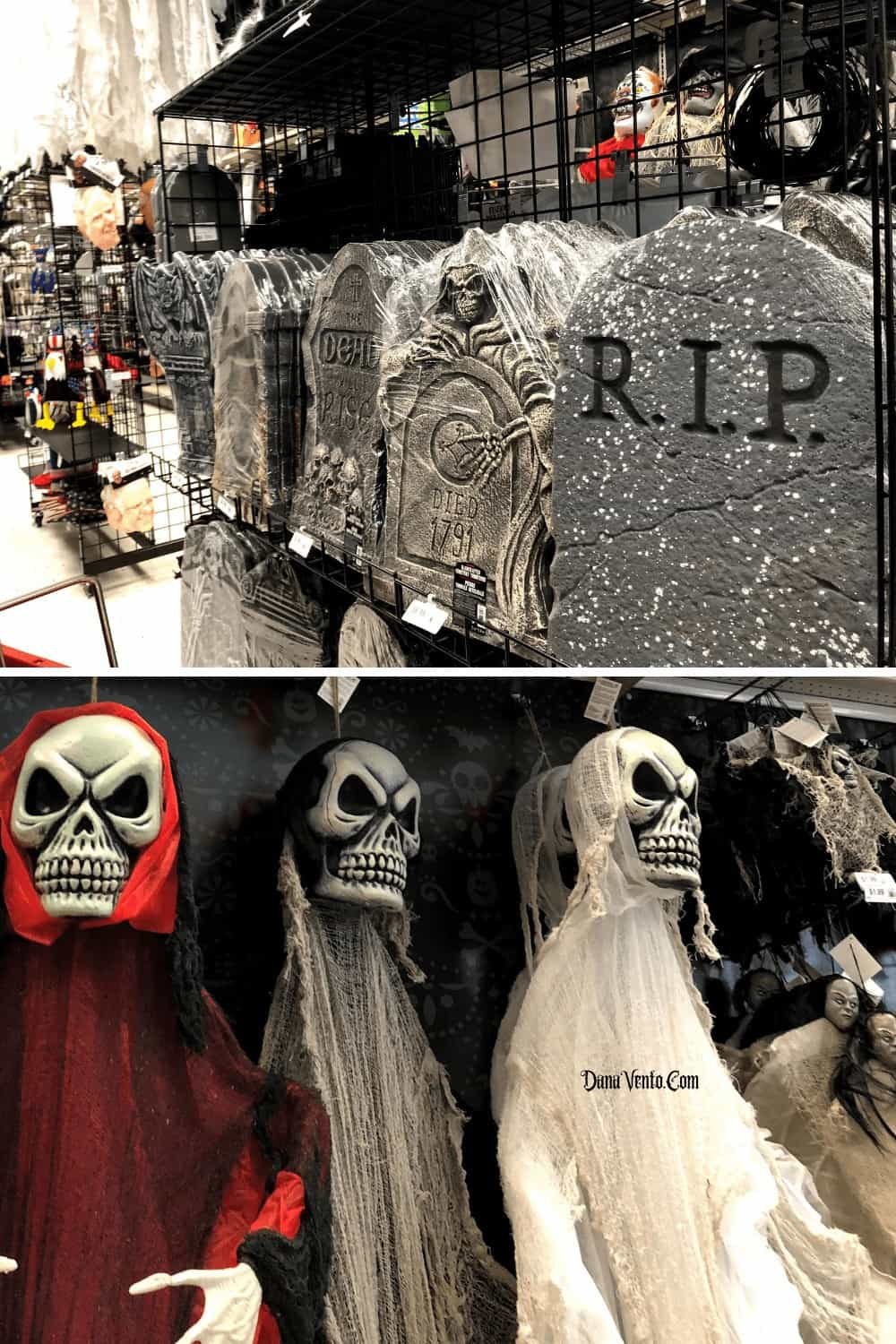 In Party City For Halloween Shopping