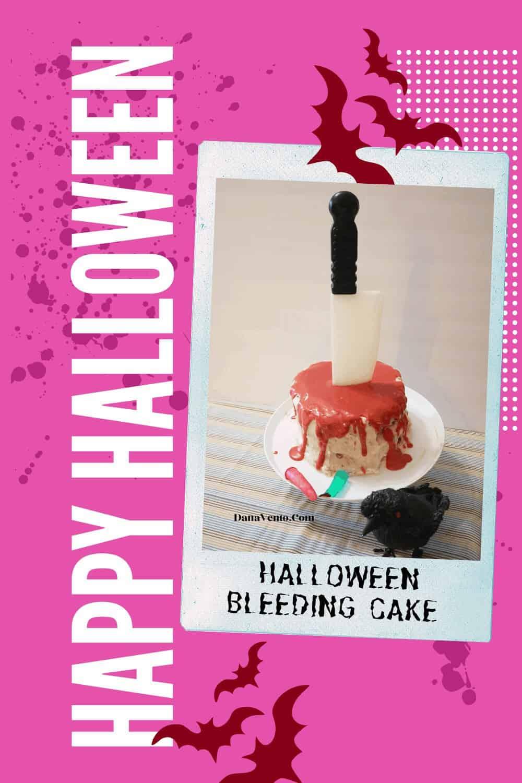 Bleeding Halloween Cake
