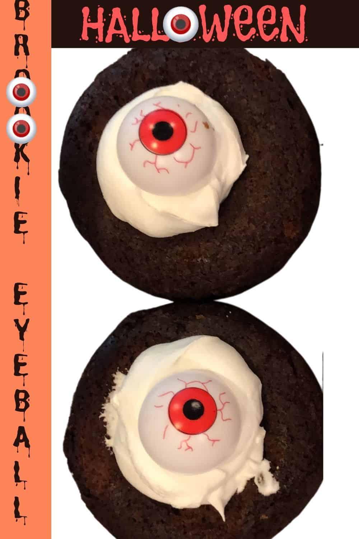 Halloween Brookie Eyeball a pair