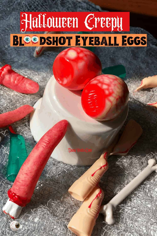 Bloodshot Egg eyeballs