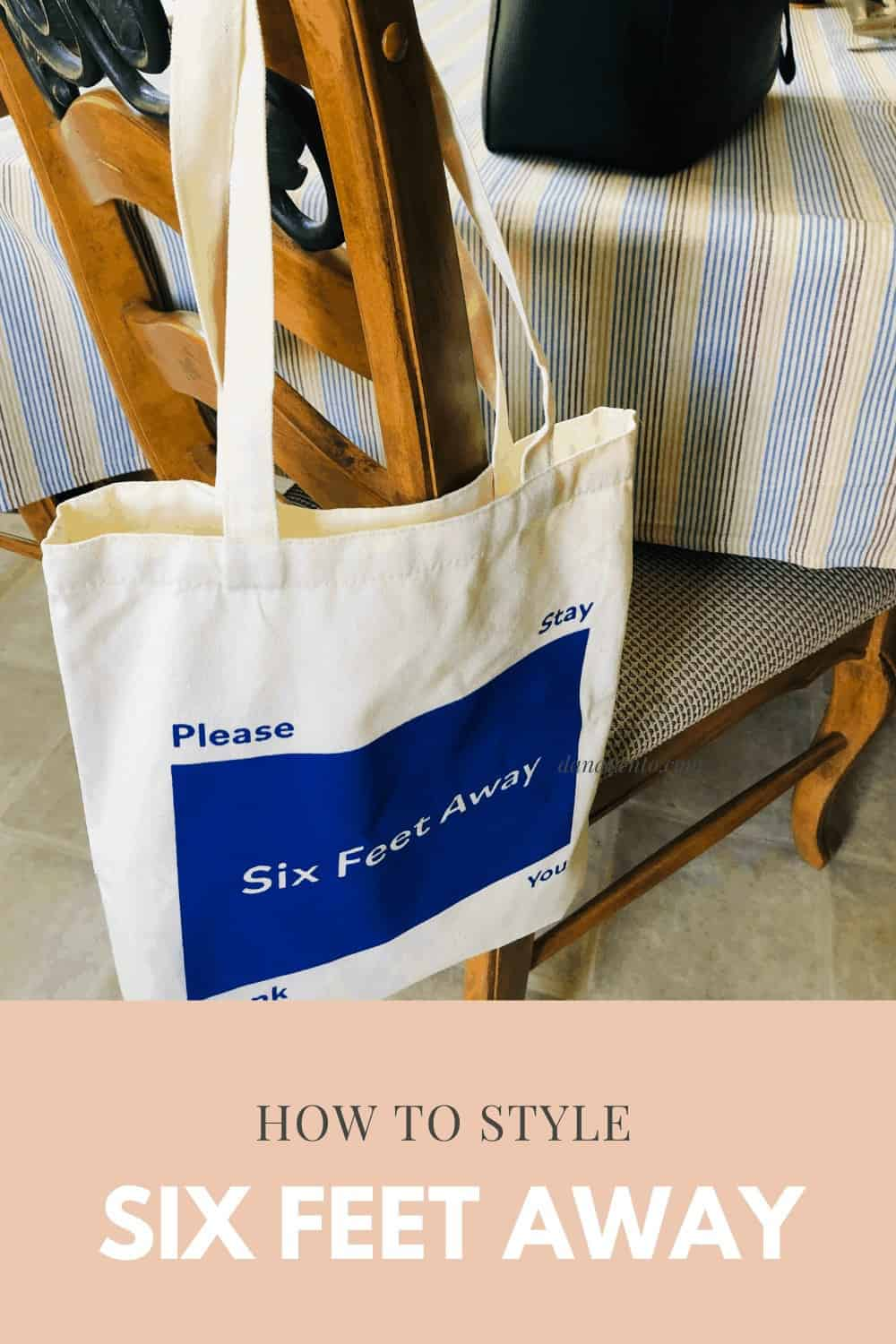 canvas tote styling