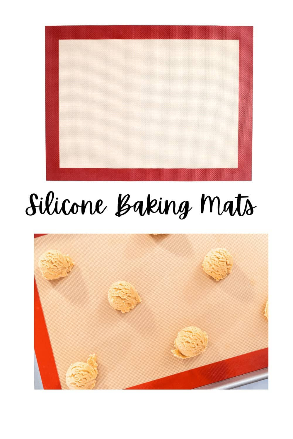 baking mats made of silicone