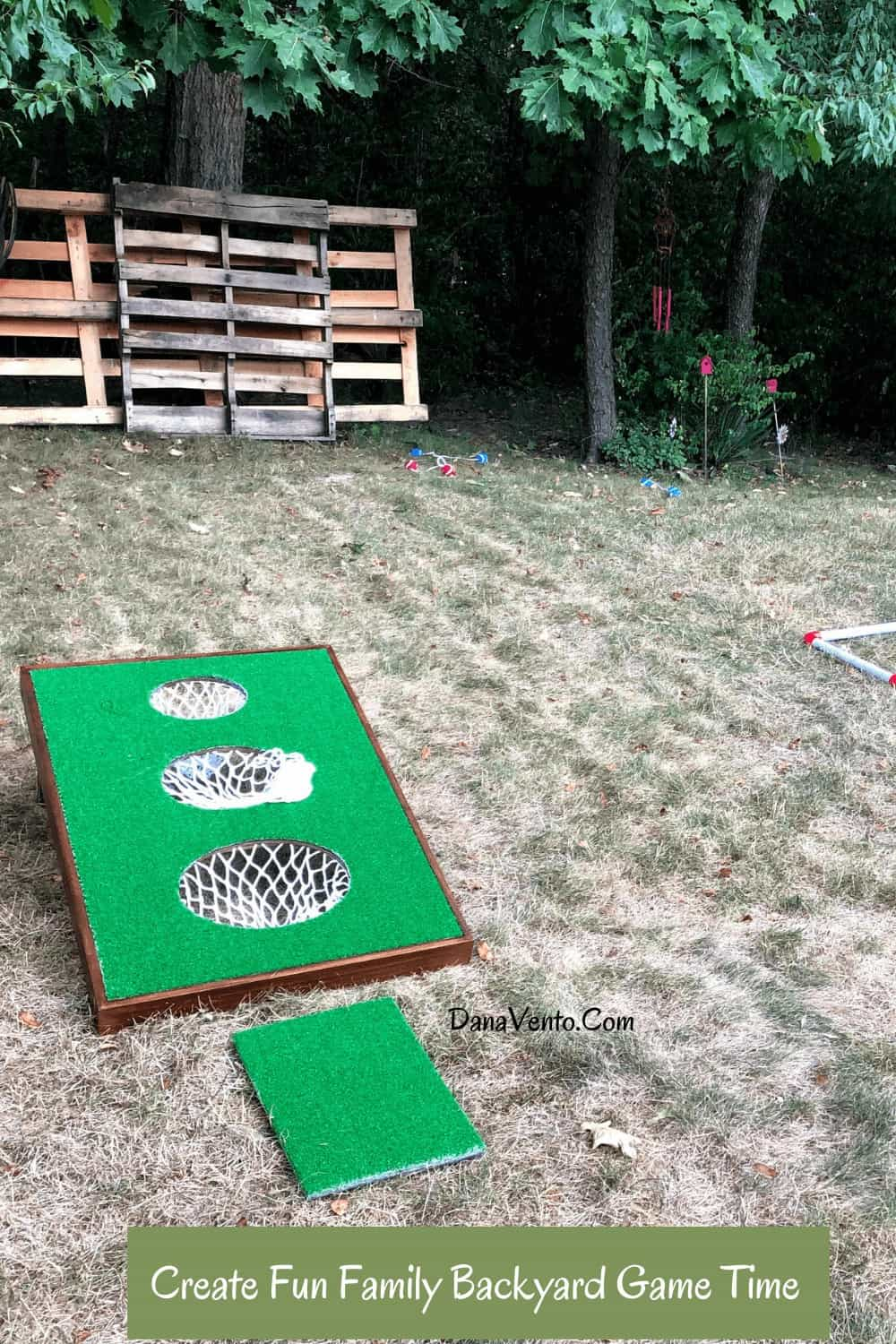 GoSports BattleChip VERSUS Golf Cornhole Chipping Game