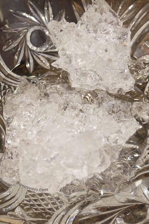 ice bath for hard boiled eggs