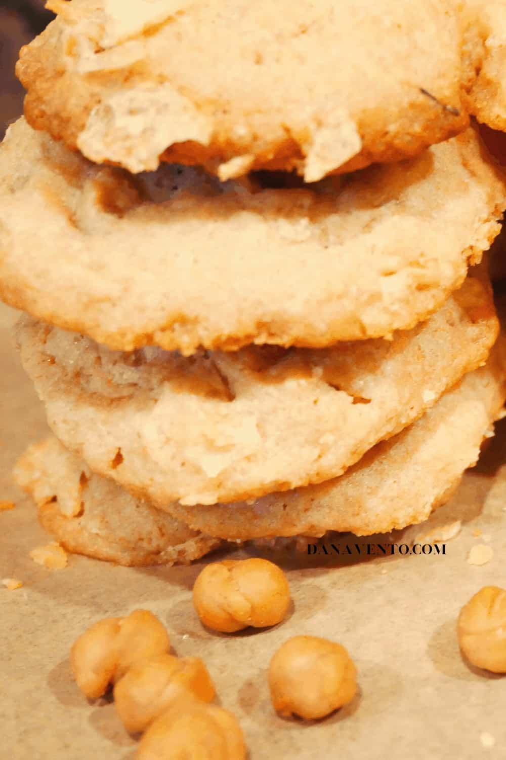 Potato Chip Cookies Stacked