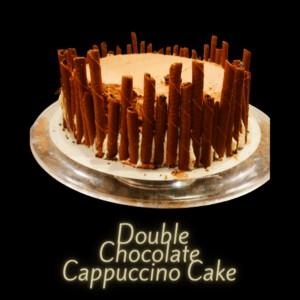 1 Delicious Double Chocolate Cappuccino Cake