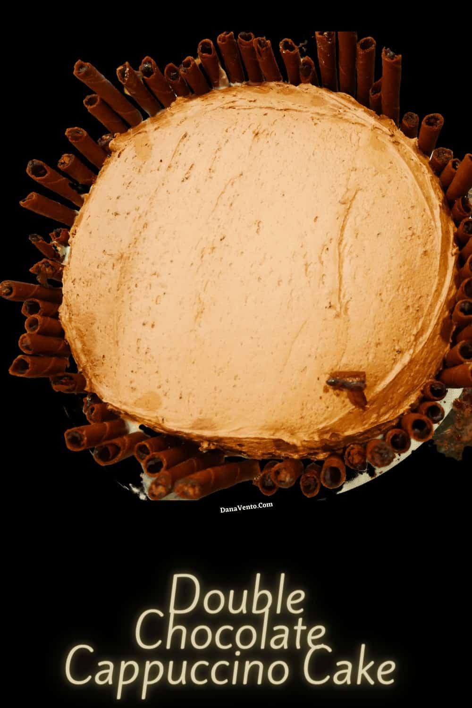 top of chocolate cake