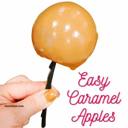 Really Easy Caramel Apples