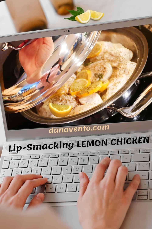 Lip Smacking LEMON CHICKEN on screen