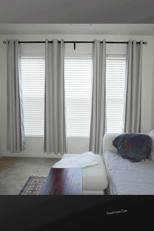 open room darkening curtains