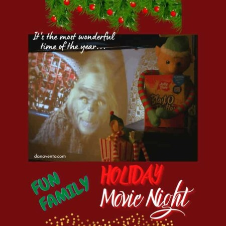 DIY A Fun Family Holiday Movie Night And Enjoy Time Together