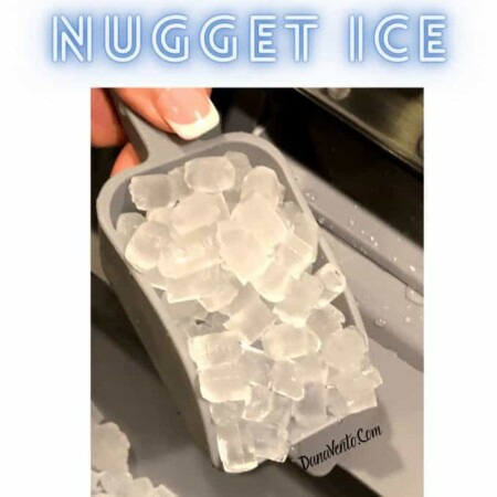 Make Nugget Ice maker ice in scoop