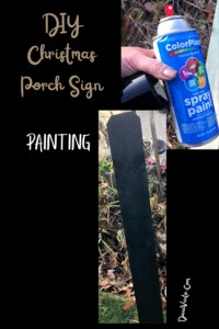 Painted Fence Board and Sealed too