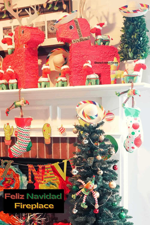 DIY to Create A Festive Feliz Navidad Mantel for the Holidays
