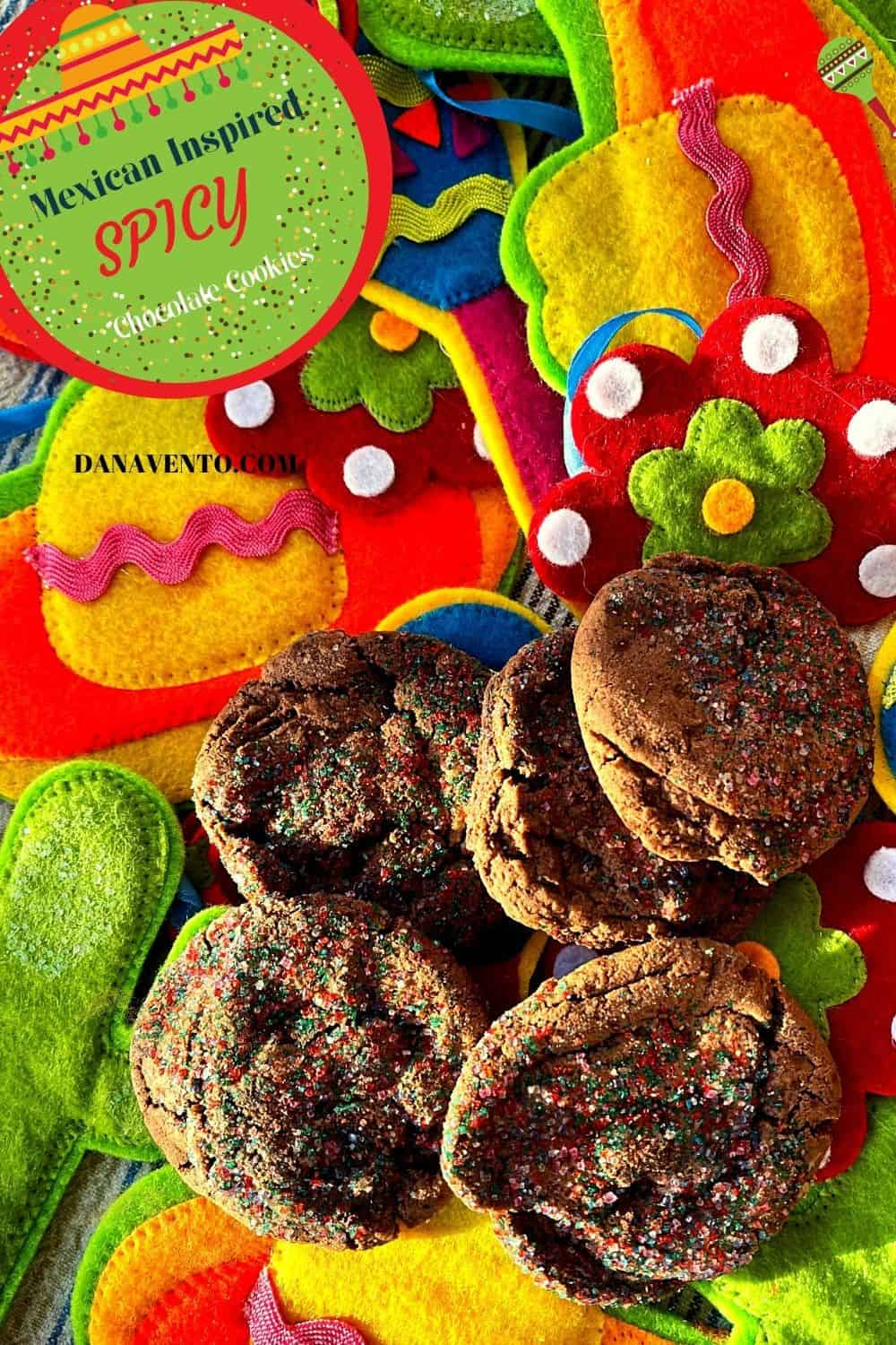 5 Mexican Inspired Spicy Chocolate Cookies