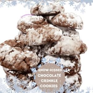 Snow-Kissed Chocolate Crinkle Cookies: Sweet Satisfaction