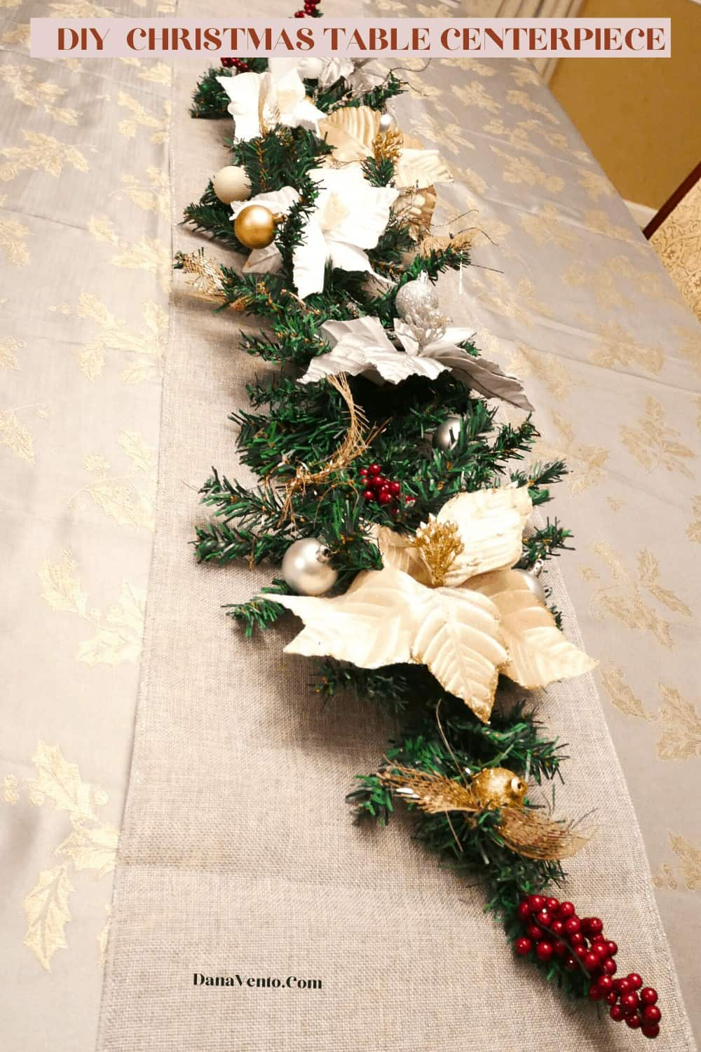 Centerpiece for Christmas ON Table