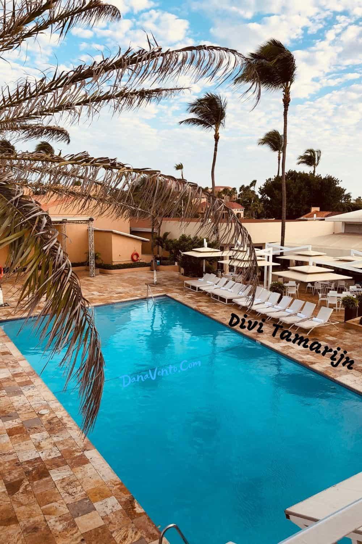 Divi Tamarijn pool area mega all inclusive package