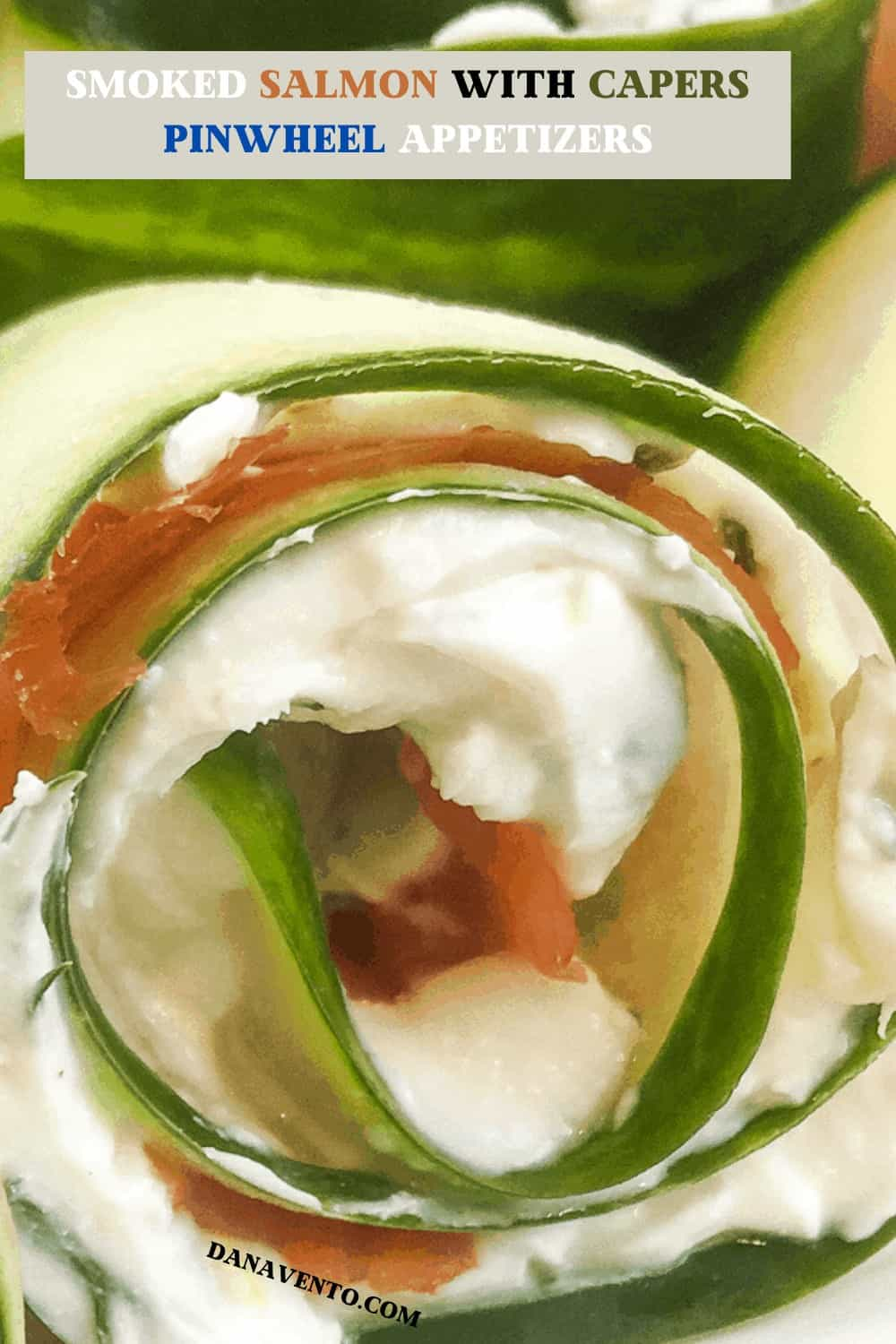 Easy Smoked Salmon With Capers Pinwheel Appetizers