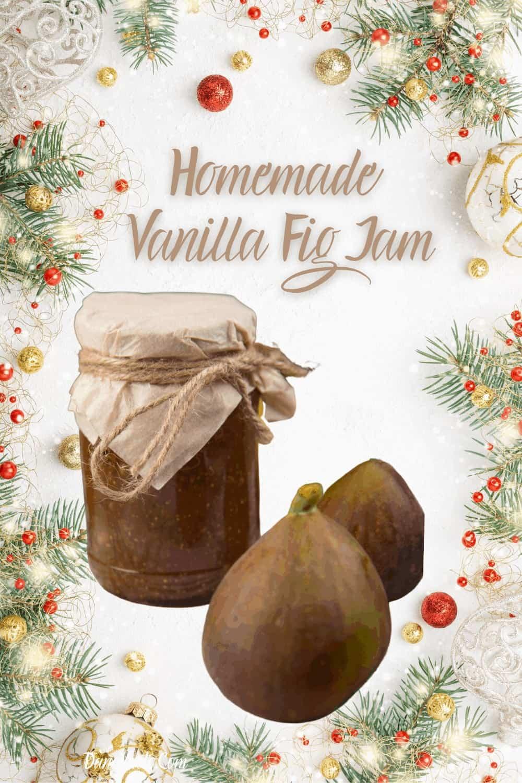 Simple Gift-Worthy Homemade Vanilla Fig Jam