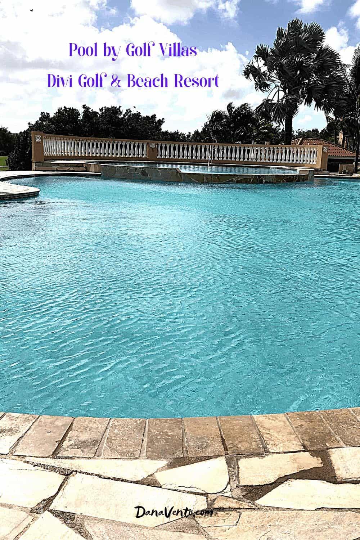 Golf Villas Pool in Aruba Resort