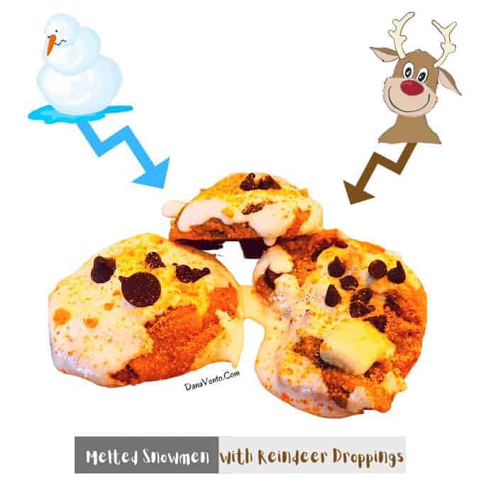 The story of how Melted Snowmen With Reindeer Droppings became