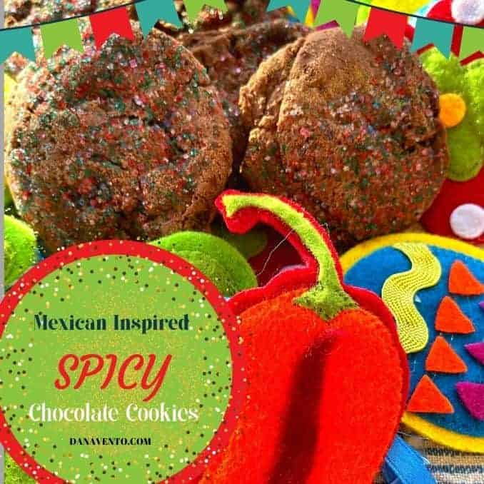 Mexican-Inspired Spicy Chocolate Cookies
