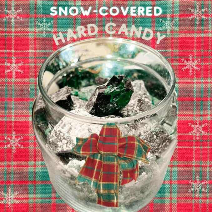 Super Easy Old-Fashioned Snow-Covered Hard Candy