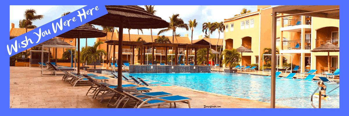 Pool in Aruba Resort mega all inclusive package