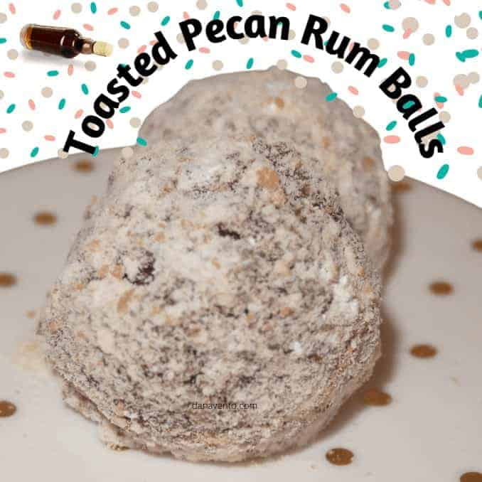 Toasted Pecan Rum Balls Bring On The Jolly