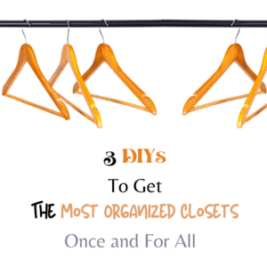 Get the Most Organized Closets Once and For All