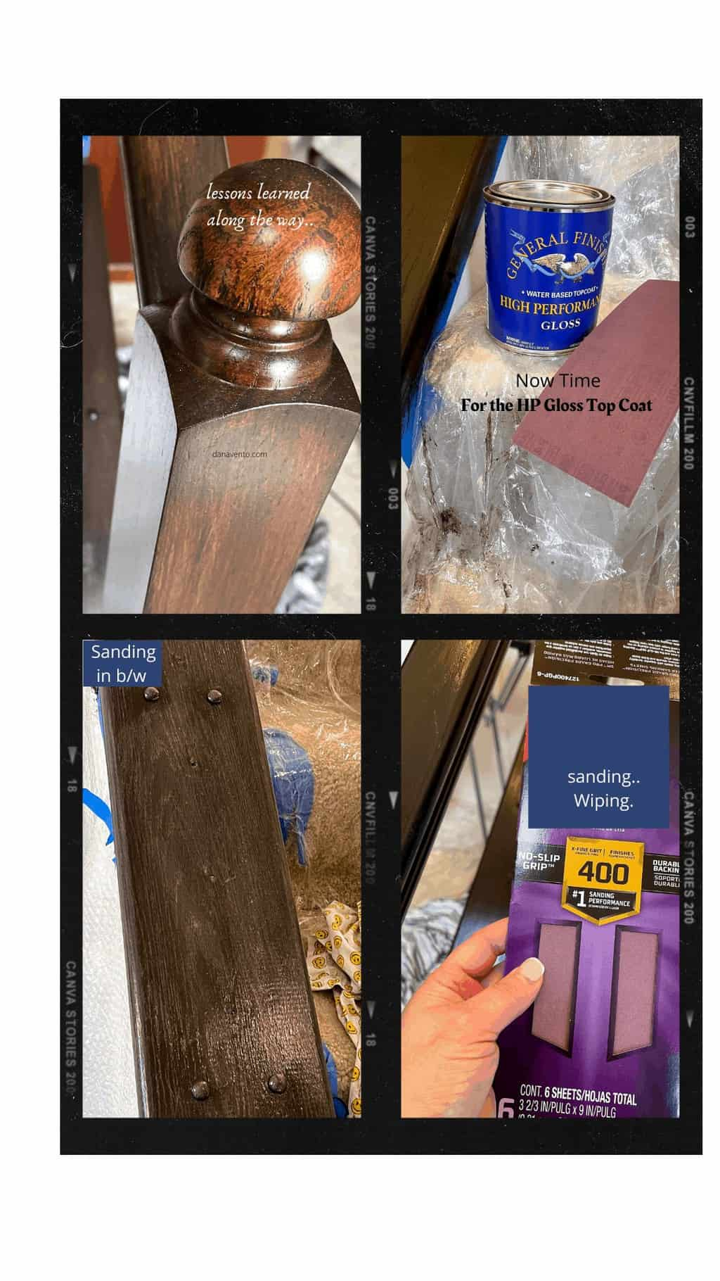 High Performance Gloss DIY on banister stairs DIY