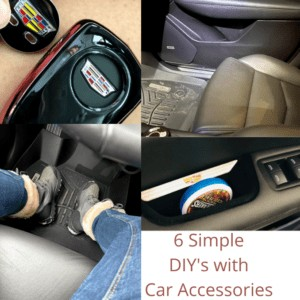 6 Simple DIYs with Car Accessories that You Will Love