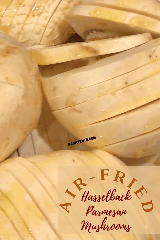 Hasselback mushrooms