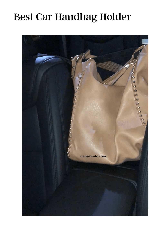 best handbag holder advantage- your elbow still fits on console
