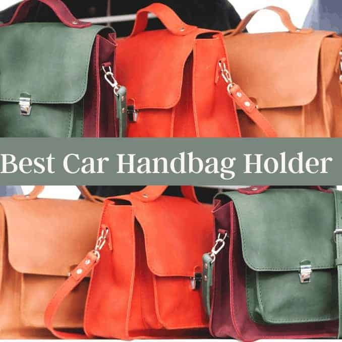Best Car Handbag Holder. Simple DIY, No Tools Required!