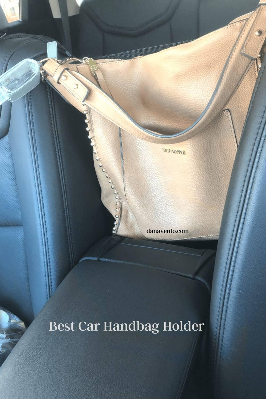 purse in handag holder