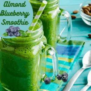 Bold-Flavored Almond Blueberry Smoothie