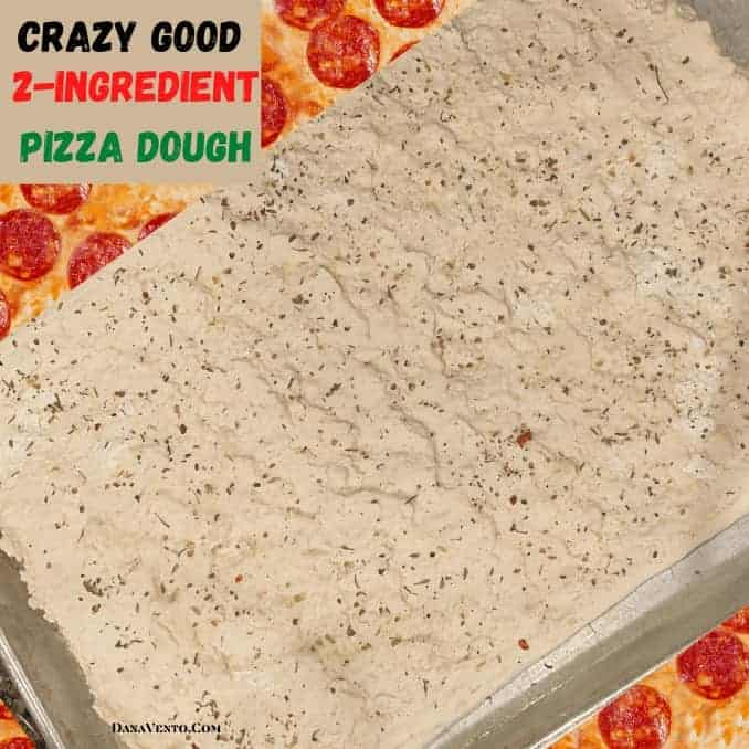 Crazy Good 2-Ingredient Pizza Dough