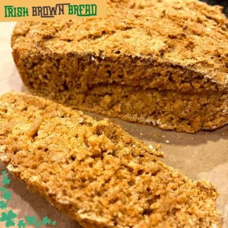 Irish Brown Bread sliced
