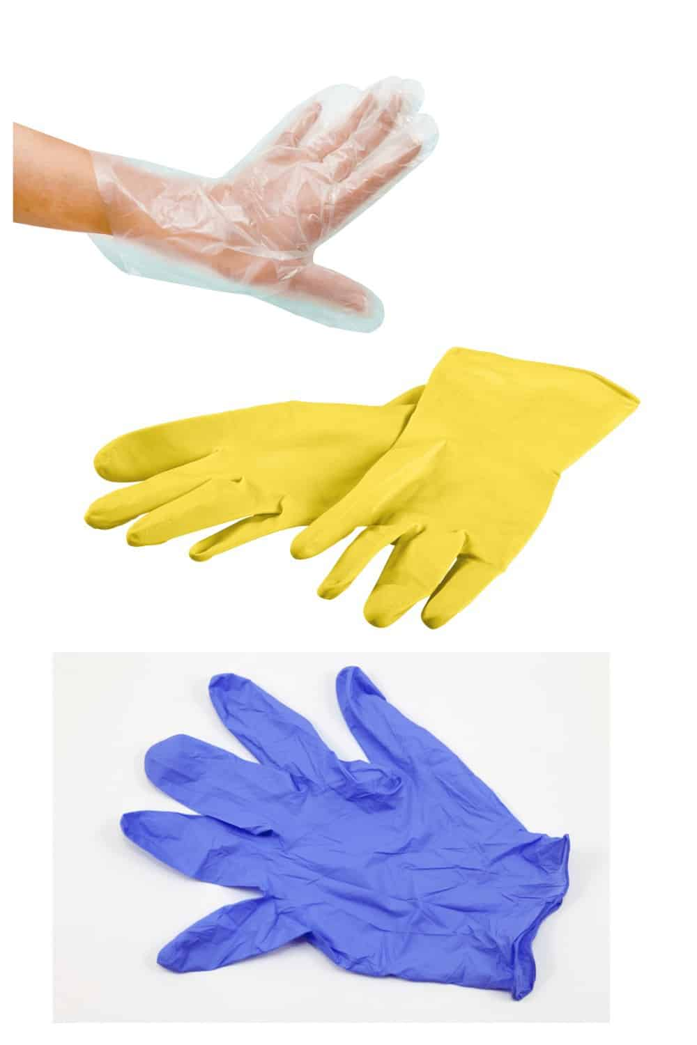 gloves for bathroom cleaning