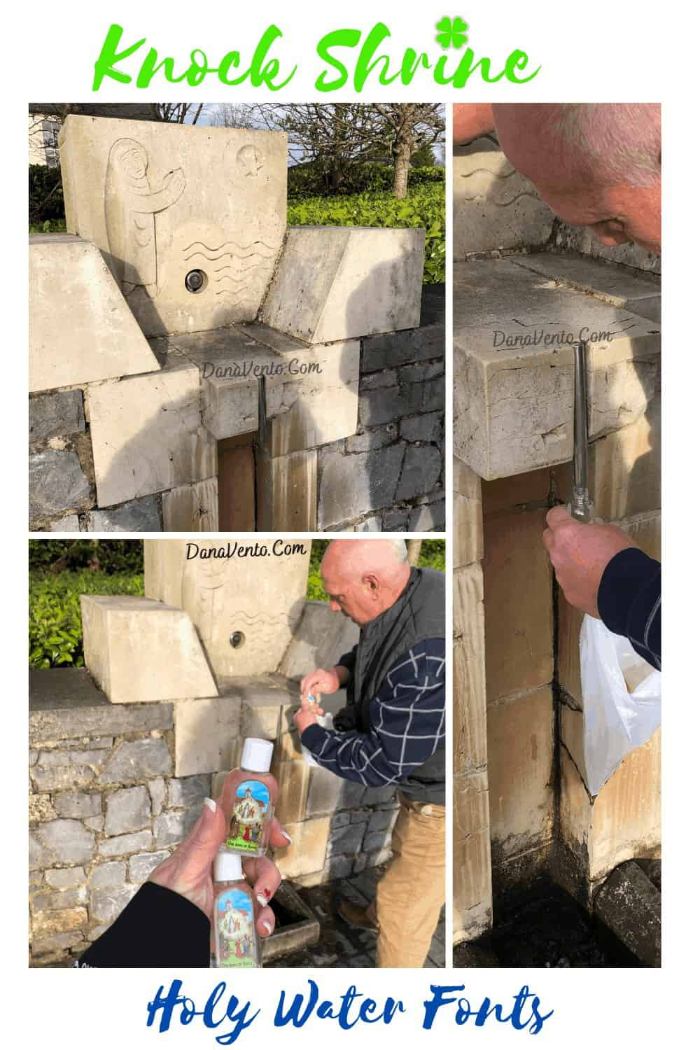 Knock Shrine holy water fonts