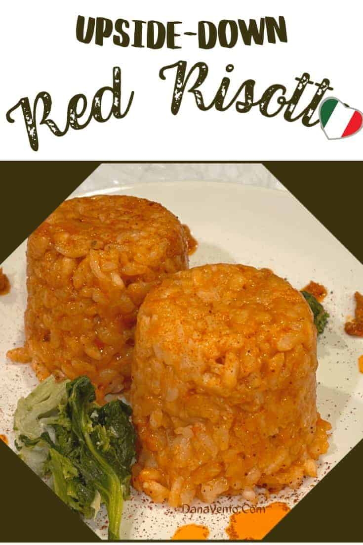 Red Risotto Plated