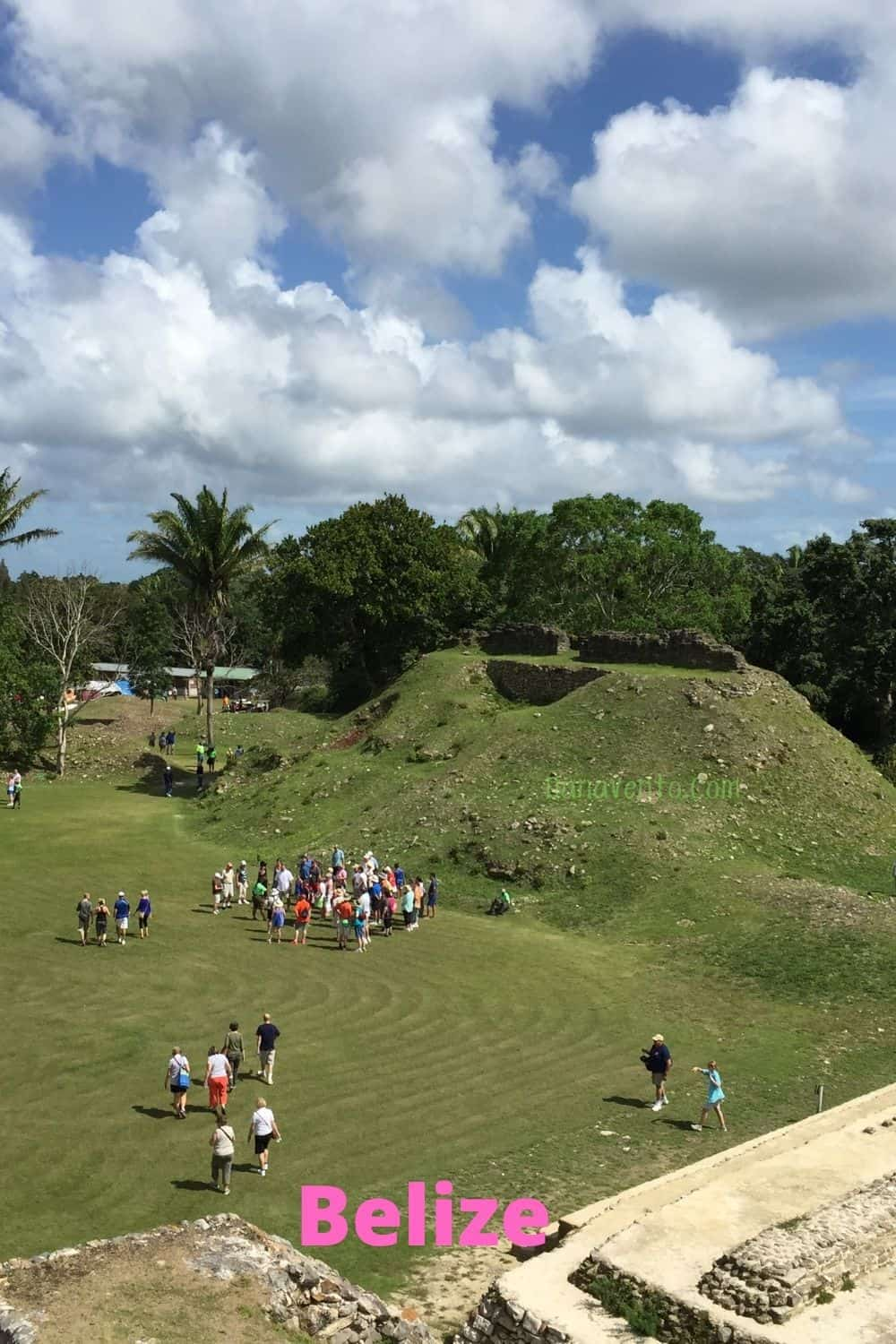 Belize ruins and jungle